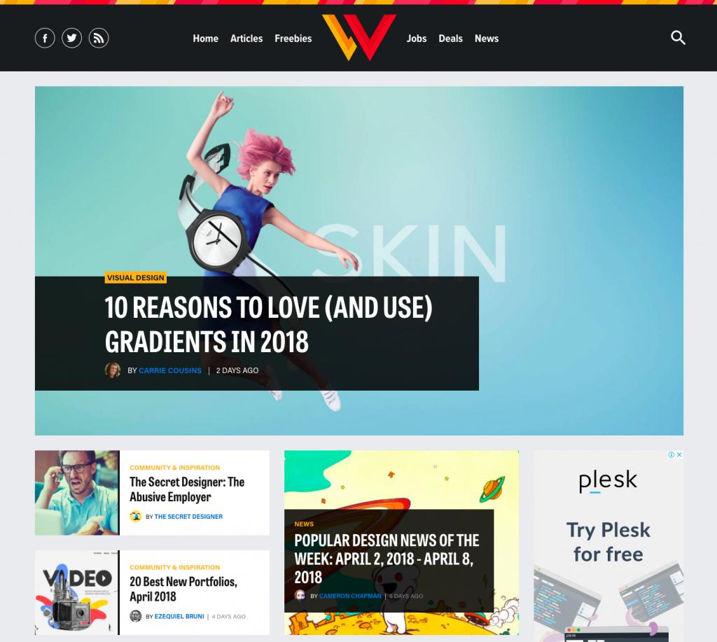 20 Best Web Design And Development Blogs To Follow Idesign Web Sites Tasmania