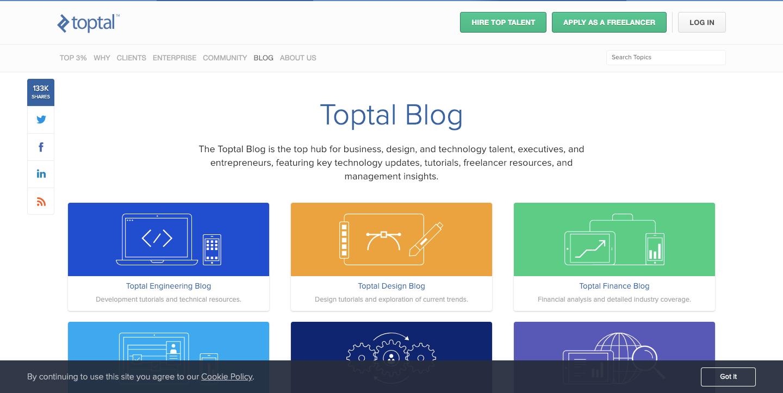 Toptal Blog (Bonus)